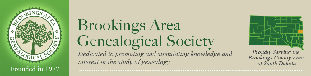 Brookings Area Genealogical Society